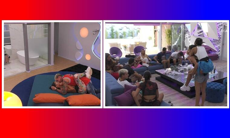 Big Brother: Οι πριβέ στιγμές Πέτσα-Ανχελίτας στο captain's room και η νέα απολαυστική αποστολή!