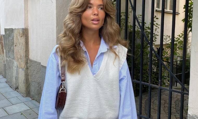 8 τρόποι να φορέσεις το πλεκτό γιλέκο αυτήν τη σεζόν