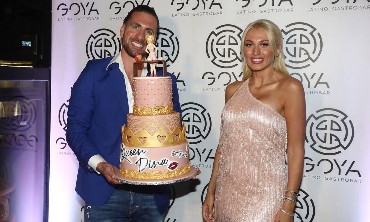 Κωνσταντίνα Σπυροπούλου: Πάρτυ υπερπαραγωγή για τα γενέθλιά της! Τα τρυφερά φιλιά με τον Βασίλη της