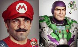 Έτσι θα έμοιαζαν οι ήρωες cartoon και παιχνιδιών στην πραγματικότητα