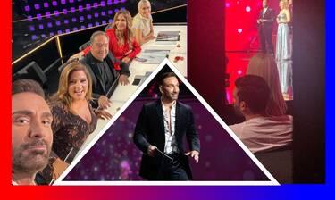 Το gossip-tv στα backstage του J2US! Οι αγκαλιές Τούνη-Αλεξάνδρου, ο χορός της Σάσας και ο Καρράς!