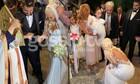 Κυανός - Μπούρα: Νέες αποκλειστικές φωτό από τον γάμο και τη βάφτιση της κόρης τους