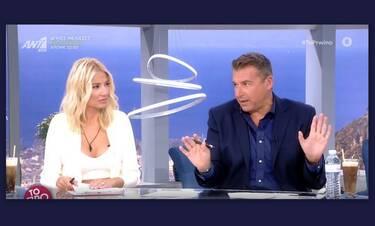 Σκορδά - Λιάγκας: Ο επικός διάλογος on air για τον Αρναούτογλου – «Εγώ θα σε είχα ξεσκίσει»
