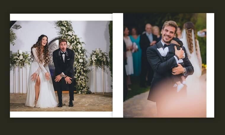 Άκης Πετρετζίκης: Το φωτογραφικό άλμπουμ του γάμου και της βάφτισης του γιου του
