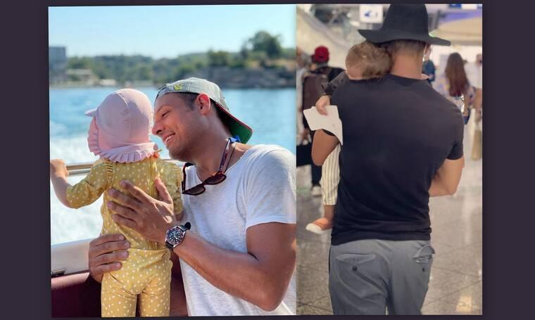 Σάββας Πούμπουρας: Θα λιώσεις! Η βόλτα με την κόρη του, Κύνθια στο σούπερ μάρκετ (Vid)