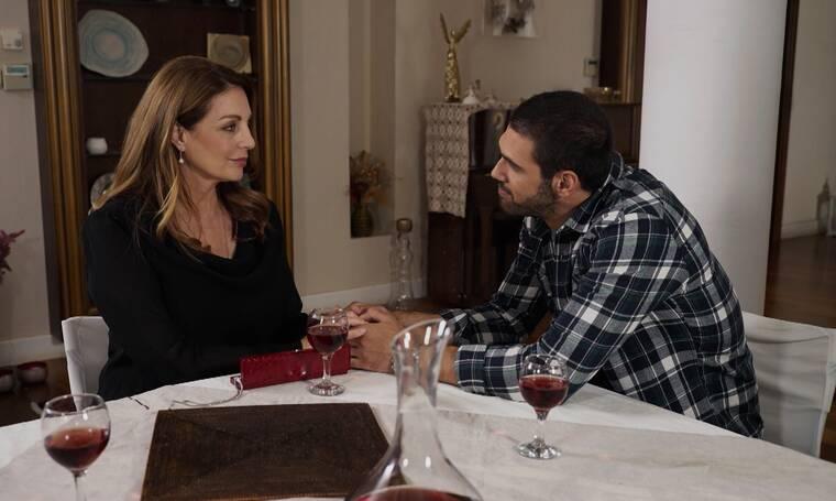 Η Γη της Ελιάς: Η Άννα δηλώνει στον Δημήτρη πως είναι έγκυος