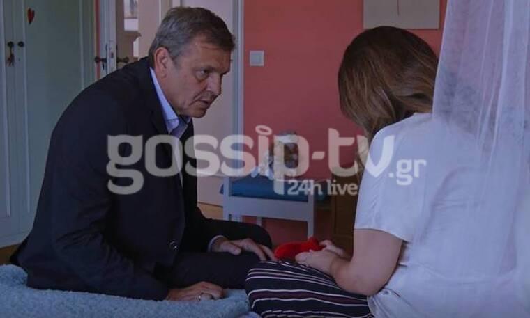 Μόλις Χθες: Αποκλειστικά στιγμιότυπα από το επεισόδιο-Ο Μιχάλης αντιμέτωπος με τη Λουίζα & τον Σπύρο