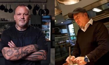 Βγήκαν τα μαχαίρια στις τηλεκουζίνες: Τι λένε Σκαρμούτσος-Μποτρίνι για τον συνωστισμό των chefs