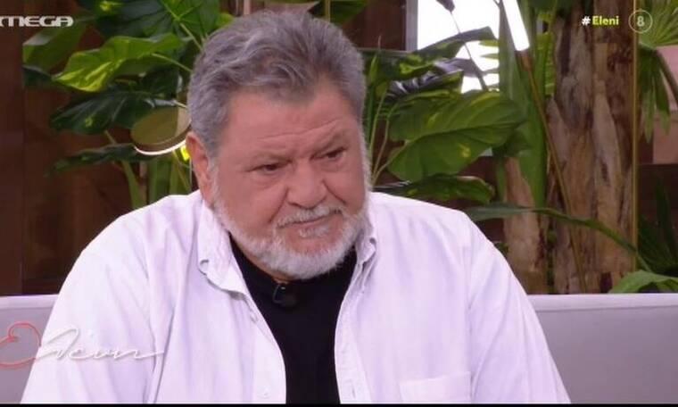 Γιώργος Παρτσαλάκης: Λύγισε ο ηθοποιός – «Με διέλυσες»! (Video)