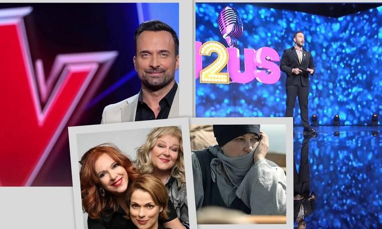 Τηλεθέαση: J2US, The Voice ή μυθοπλασία; Ο μεγάλος νικητής της prime time του Σαββατόβραδου!