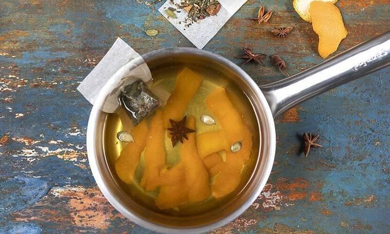Τσάι με φλούδες από πορτοκάλι από τον Άκη Πετρετζίκη!