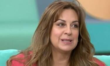 Ευαγγελία Μουμούρη: «Την πρώτη φορά που είδα τον εαυτό μου στην τηλεόραση ανέβασα πυρετό»