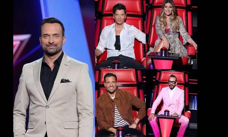 Τηλεθέαση: Πρώτη επιλογή του κοινού οι blind auditions του The Voice