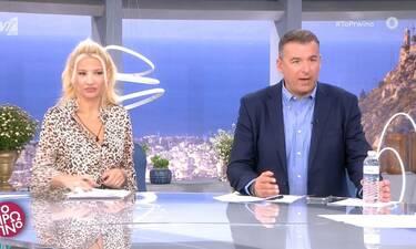 Έξω φρενών η Σκορδά: «Θα μπορούσατε να με ρωτήσετε πρώτα» - «Άφωνος» ο Λιάγκας (Video)