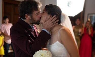 Γάμος Μαραβέγια - Σωτηροπούλου: Η συγκίνηση του Κωστή και η δημόσια ερωτική εξομολόγηση
