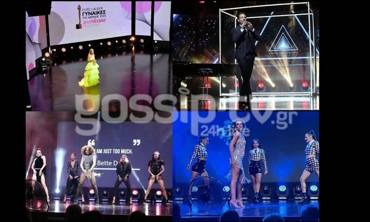 Το gossip-tv στα Βραβεία Madame Figaro 2021: Μπεκατώρου - Αργυρός - Αδάμου έλαμψαν on stage