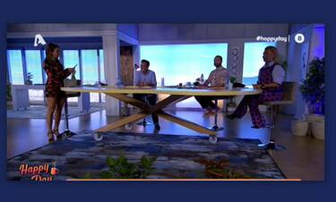 Happy Day: Στο σκοτάδι η εκπομπή της Σταματίνας Τσιμτσιλή  - Δείτε πως αντέδρασε (Video)