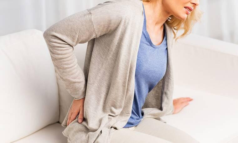 Πόνος στη μέση: Πού αλλού μπορεί να οφείλεται εκτός από τη σπονδυλική στήλη (εικόνες)