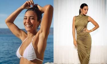 Κακοκαιρία «Μπάλλος»: Η Ευγενία Σαμαρά είναι χειμερινή κολυμβήτρια και πόσταρε φωτό με μαγιό!