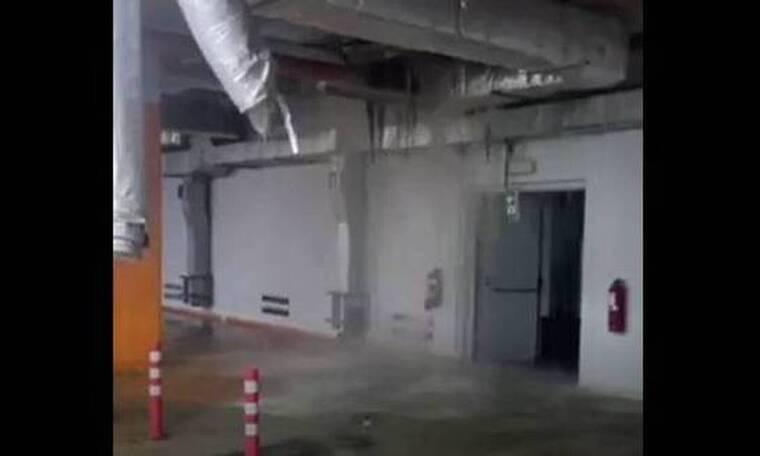 Κακοκαιρία «Μπάλλος»: Μεγάλες καταστροφές στο Κέντρο Πολιτισμού Ελληνικός Κόσμος (videos)