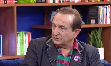 Σπύρος Μπιμπίλας: «Ο Πέτρος Φιλιππίδης μου στάθηκε σαν αδερφός» (Video)