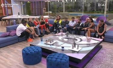 Big Brother: Όχι ένας αλλά δύο οι υποψήφιοι προς αποχώρηση μετά την live ψηφοφορία (Video)