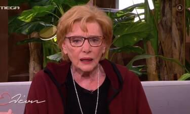 Ξέσπασε η Μάρω Κοντού: «Με έβριζαν και με κατηγορούσαν! Σκέφτηκα να κινηθώ νομικά...» (Video)