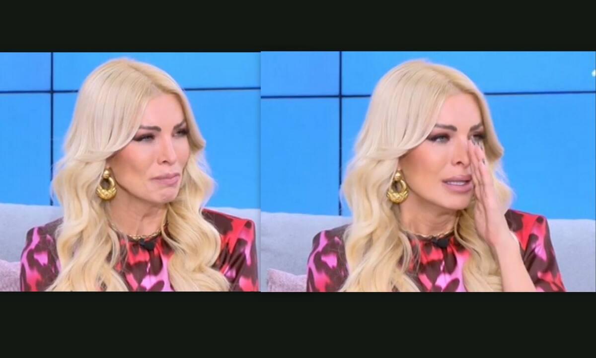 Πλάνταξε στο κλάμα η Κατερίνα Καινούργιου – Τι συνέβη στην παρουσιάστρια (video)