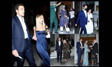 Τι φόρεσαν οι γαλαζοαίματοι καλεσμένοι στο pre wedding party Φίλιππου-Νίνας Φλορ; Ποιες εντυπωσίασαν