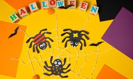 Πώς θα φτιάξετε αράχνες από μαύρο χαρτόνι (εικόνες)