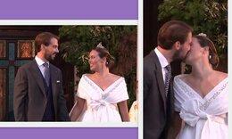 Φίλιππος - Νίνα Φλορ: Οι πρώτες εικόνες από το after wedding γεύμα στον Πειραιά! (photos)
