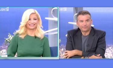 Έξαλλος ο Λιάγκας: «Θεωρώ ότι είναι κοροϊδία» - Άγριο χώσιμο της Σκορδά! Τι συνέβη on air (Video)